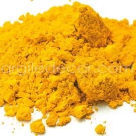 Pigment synthétique organique Jaune bouton d'or déco