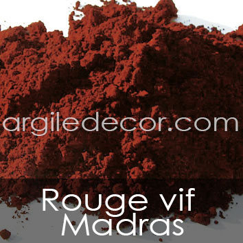 Rouge vif Madras