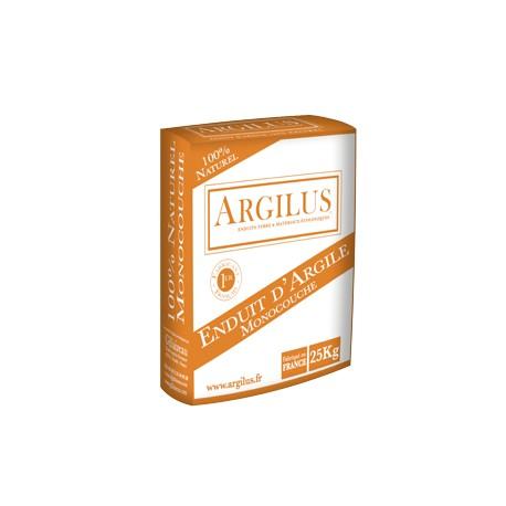 Enduit argile monocouche ARGILUS 25 kg