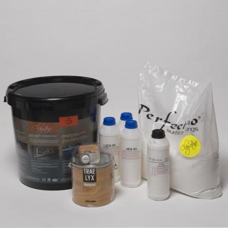 Kit Claystone pour sols et plans de travail