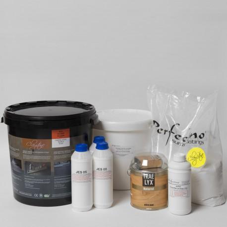 Kit Claystone pour sols et plans de travail en carrelage