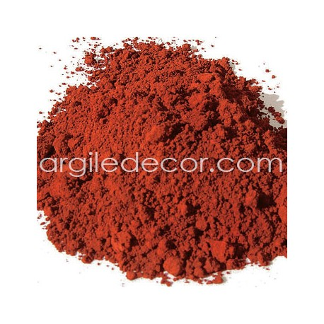 Pigment Ocre rouge de Puisaye