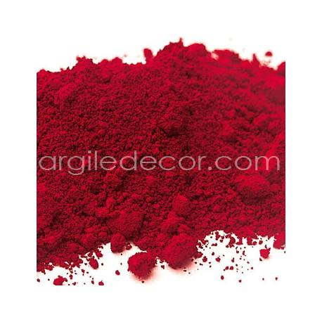 Pigment Rouge Bordeaux cadmium