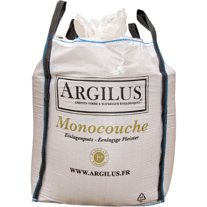 Big bag 1 tonne d 39 enduit cologique monocouche l 39 argile argilus - Terre vegetale big bag ...