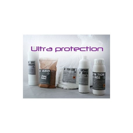 Kit béton ciré ultra protection
