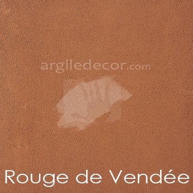 Enduit argilus Rouge de Vendée
