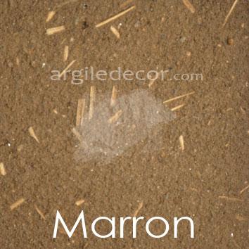 Enduit monocouche Marron