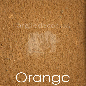 Enduit monocouche Orange