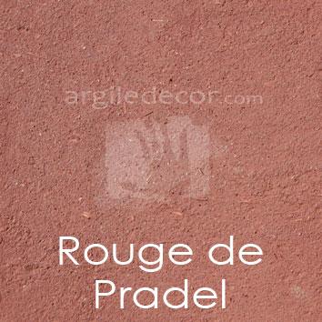Enduit monocouche Rouge de Pradel