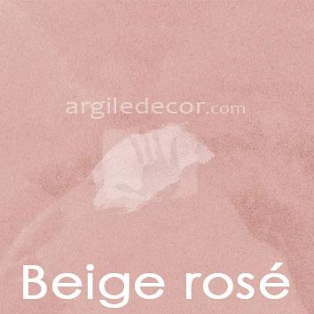 Peinture à la chaux façade Beige rosé