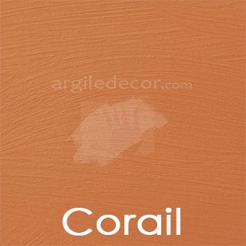 Peinture à la chaux Corail