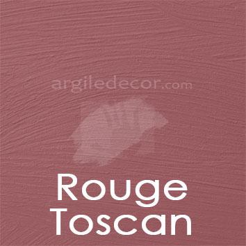 Peinture à la chaux Rouge Toscan