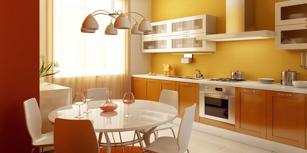 Enduir argile sur mur d'une cuisine