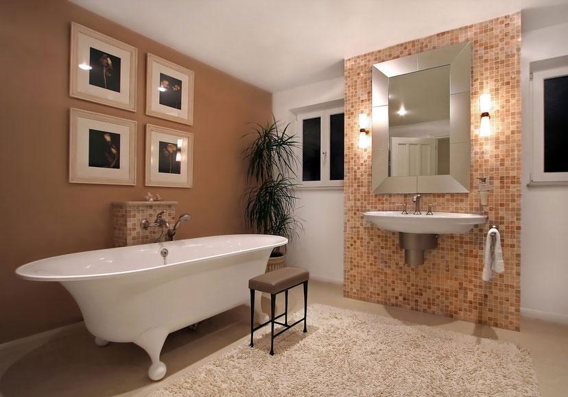 enduit mural salle de bain ... Enduit argile salle de bain ...