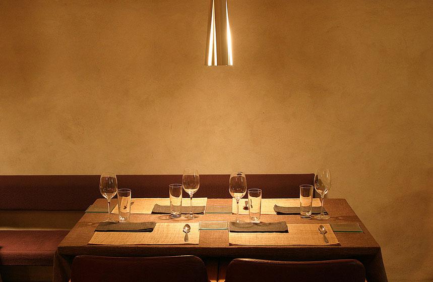 L'enduit argile convient parfaitement au salon, salle à manger