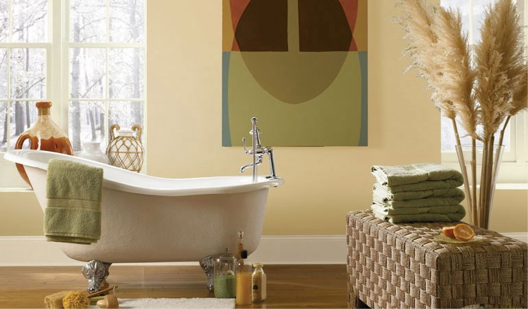 salle de bain peinture ecologique
